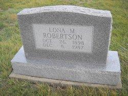Lona M. Robertson