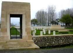 Saint Vaast Post Military Cemetery, Richebourg-l'A