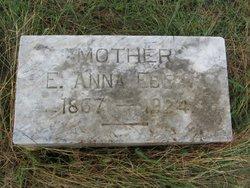 """Anna """"Annie"""" <I>Clauss</I> Ebert"""