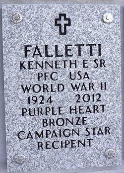 Kenneth E. Falletti, Sr