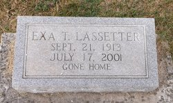 Exa <I>Thompson</I> Lassetter