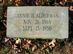 Annie <I>Hamlin</I> Alderman
