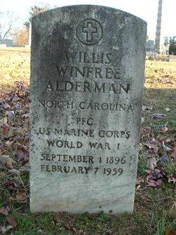 Willis Winfree Alderman