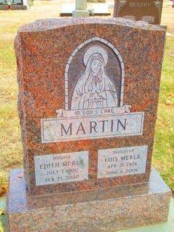Edith Merle <I>Pochardt</I> Martin
