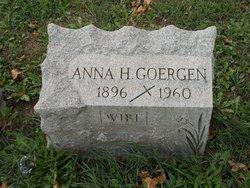 Anna H Goergen