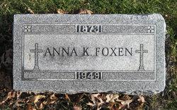 Anna <I>Kelley</I> Foxen
