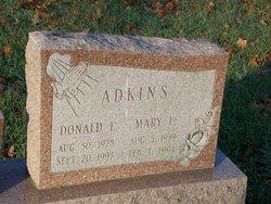 Mary E. <I>Collins</I> Adkins