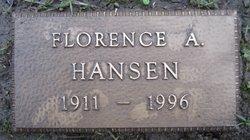 Florence Ahoeris <I>Lehmkuhl</I> Hansen