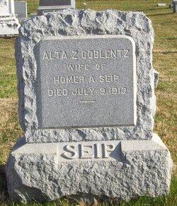 Alta Z <I>Coblentz</I> Seip