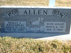 Phyllis E <I>Montgomery</I> Allen