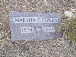 Martha <I>Talbert</I> Bowen
