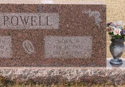 Sarah Lenora <I>Rogers</I> Powell