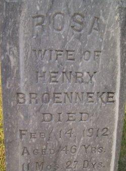 Rosa <I>Hugo</I> Broenneke