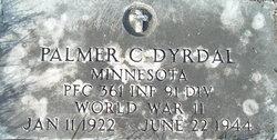 PFC Palmer Carlyle Dyrdal