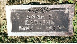 Anna Elizabeth <I>Pettis</I> Rahbine