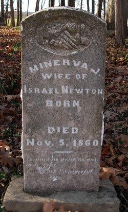 Minerva Jane <I>Green</I> Newton
