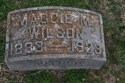 Maggie M <I>Morgan</I> Wilson
