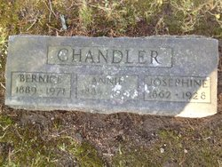 Josephine <I>Keithley</I> Chandler