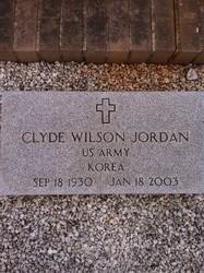 Clyde Wilson Jordan
