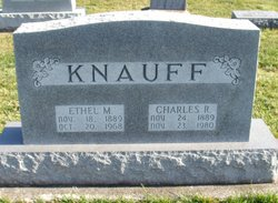 Ethel May <I>Raber</I> Knauff