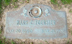 Mary Christena <I>Diltz</I> Foerster