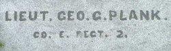 2LT George G. Plank