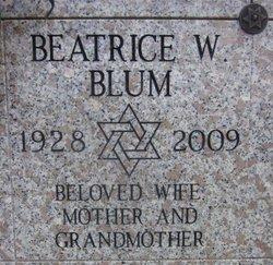Beatrice <I>Weinsaft</I> Blum