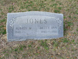 Betty Ann Jones