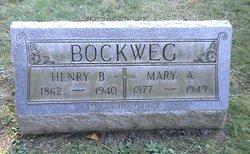 Mary A <I>Lemker</I> Bockweg