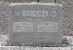 Georgie Ola <I>Irvin</I> Adams