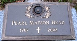 Pearl <I>Matson</I> Head
