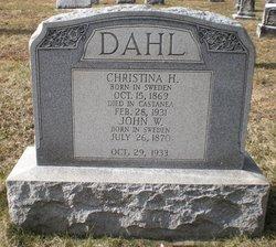 "Christina H ""Reid"" Dahl"