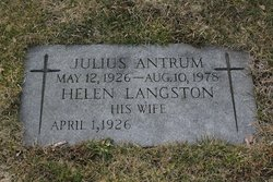 Helen <I>Langston</I> Antrum