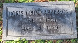 Doris <I>Crump</I> Apperson