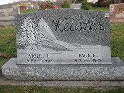 Violet I. <I>Clapper</I> Keister