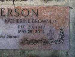 Katherine <I>Brownlee</I> Anderson
