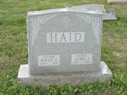 Henry J Haid