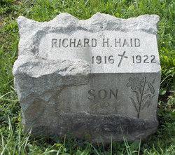 Richard H Haid