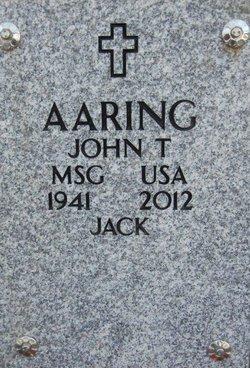 "John Thomas ""Jack"" Aaring"