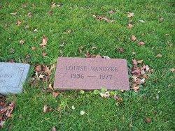 Louise <I>Hogston</I> Vandyke