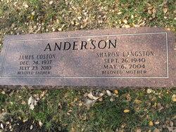 Sharon <I>Langston</I> Anderson