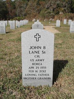 John B Lane, Sr