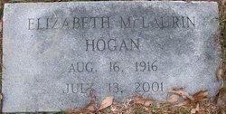 Elizabeth <I>McLaurin</I> Hogan