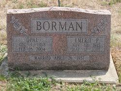 Emerit P Borman