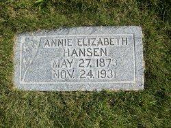 Annie Eliza <I>Hansen</I> Davidson