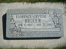 Florence Crystal Bigler