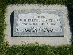 Ruth Vivian <I>Rolph</I> Christopher