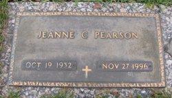 Jeanne Carol <I>Baxter</I> Pearson