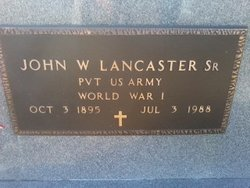 John William Lancaster Sr.