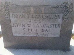 Oran Thelma <I>Sellers</I> Lancaster